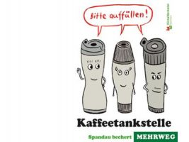 Layout: Flyer Kaffetankstelle