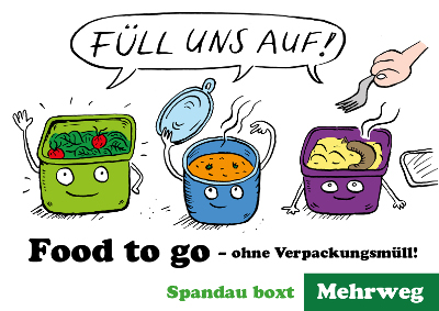 Food to go ohne Verpackungsmüll