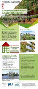 Ausstellung Rollup Klimaangepasste Häuser