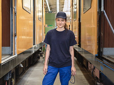 Praktikum in der U-Bahnwerkstatt