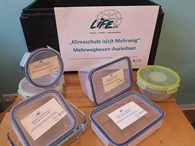 Mehrweg in der Mittagspause: LIFE e.V. verleiht Berliner Betrieben kostenfrei Boxen