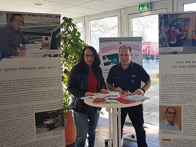 """Wanderausstellung """"Inklusion gewinnt! On Tour"""" im Mercedes-Benz Werk Berlin"""