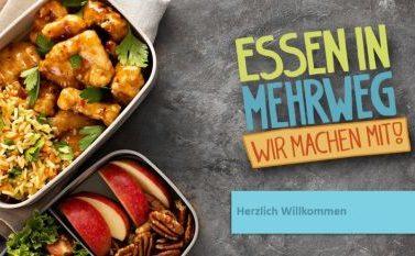 """Bundesweites Netzwerk """"Essen in Mehrweg!"""" gegründet"""