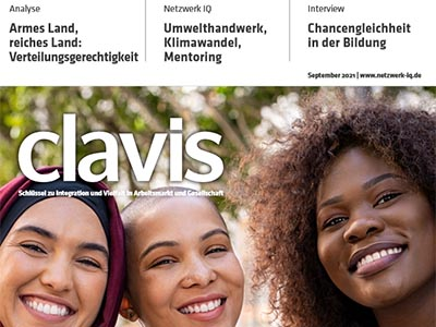 Artikel in der neuen Ausgabe der clavis